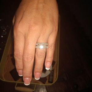 Accessories - Stealing Silver Wedding set